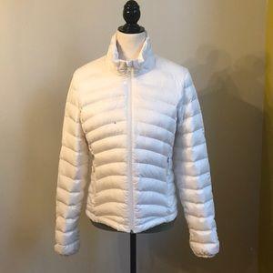 EUC Weatherproof Snow White Down Puffer Coat